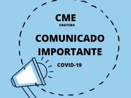 Comunicado do Conselho Municipal de Educação