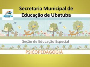 Educação Especial – Psicopedagogia – E.F. 1º, 2º e 3º anos