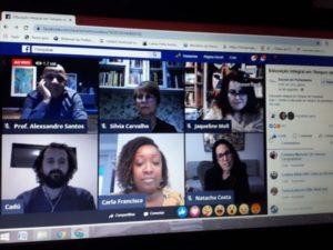 Profissionais da Educação de Ubatuba promovem encontros online