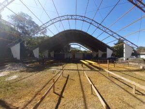 Secretaria de Educação de Ubatuba comemora avanço das obras em andamento